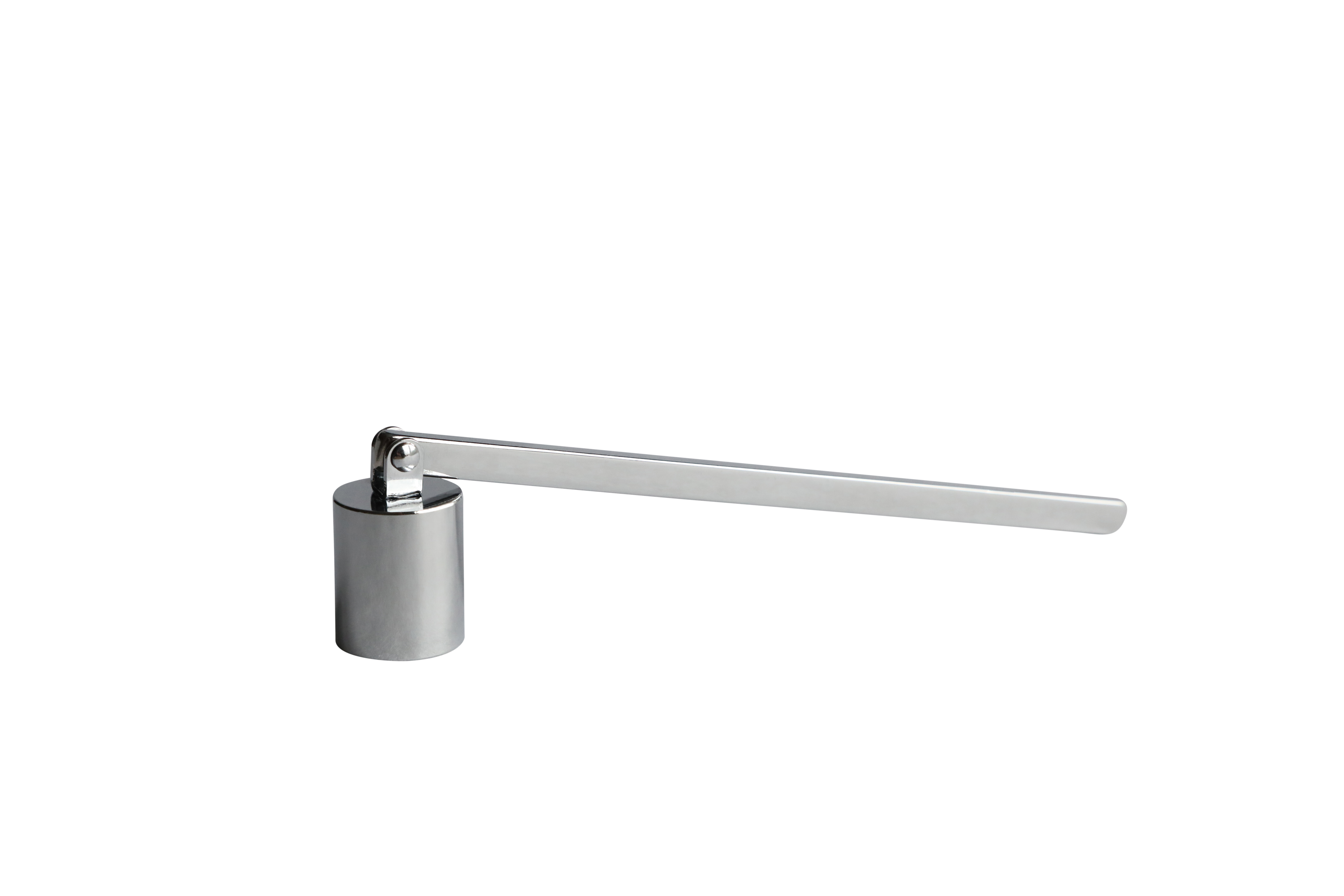 Silver candle snuffer for home accessory and make the wick lasts much longer and a cleaner burn